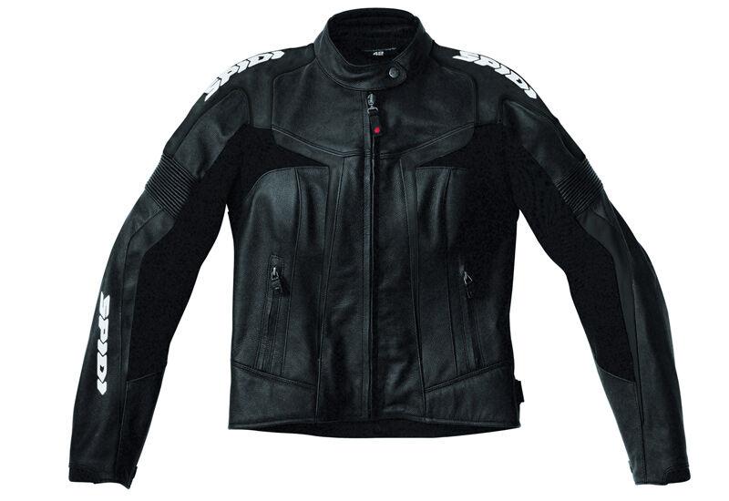 Spidi Gara Ladies motorsykkel skinnjakke 52 Svart