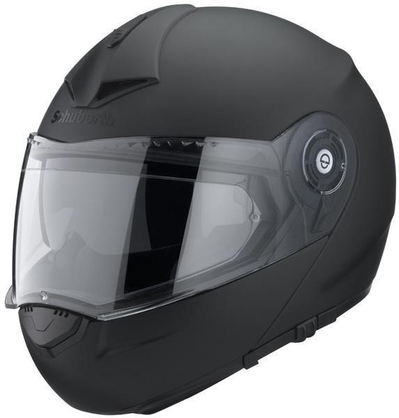 Schuberth C3 Pro Hjelm svarte Matt S Svart
