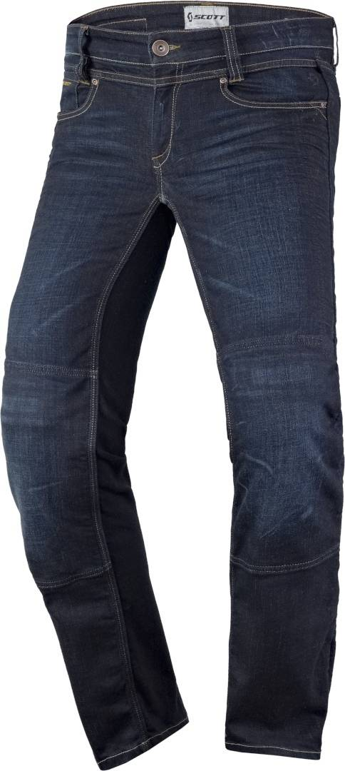 Scott Denim Stretch Motorsykkel Jeans XL Blå