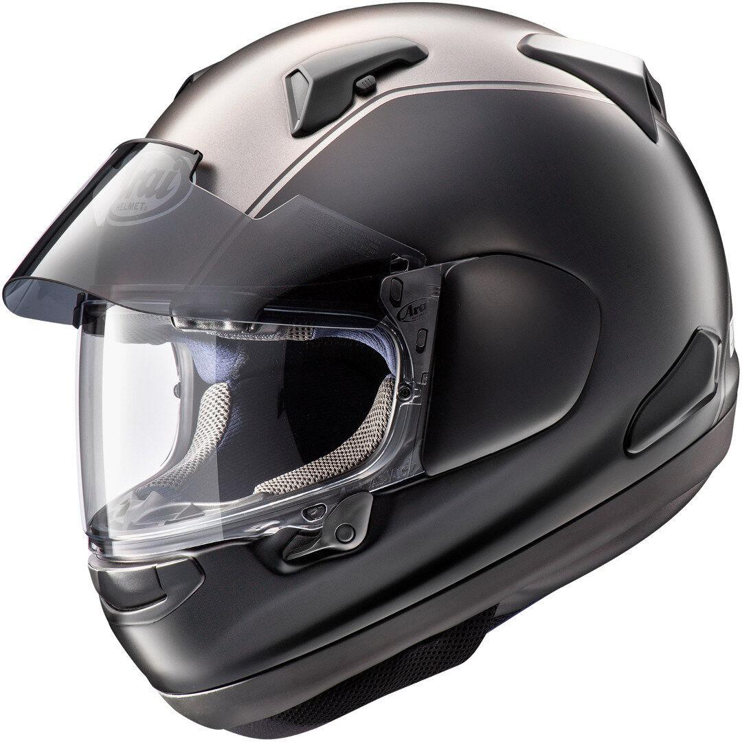 Arai QV-Pro Honda Goldwing Hjelm XL Svart Sølv