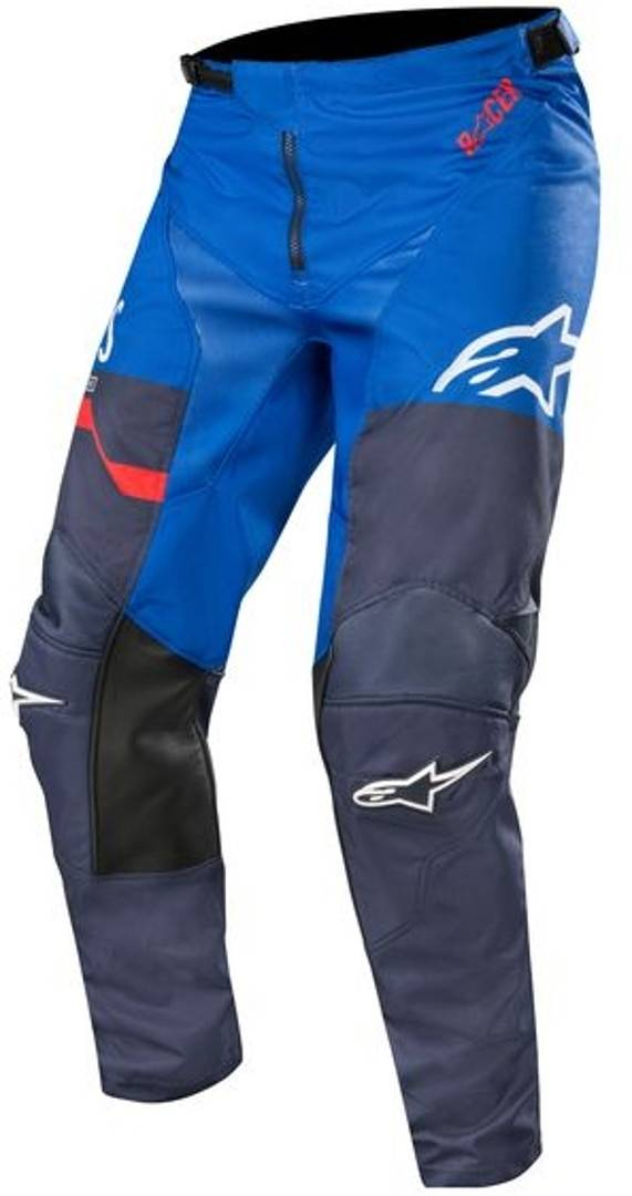 Alpinestars Racer Flagship Motocross bukser 32 Grå Blå