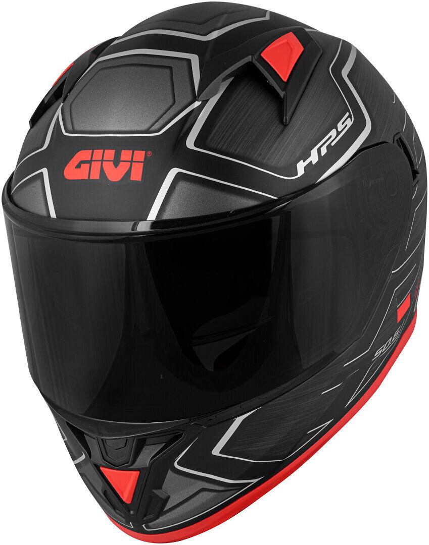 GIVI 50.6 Sport Deep Limited Edition Hjelm M Svart Rød