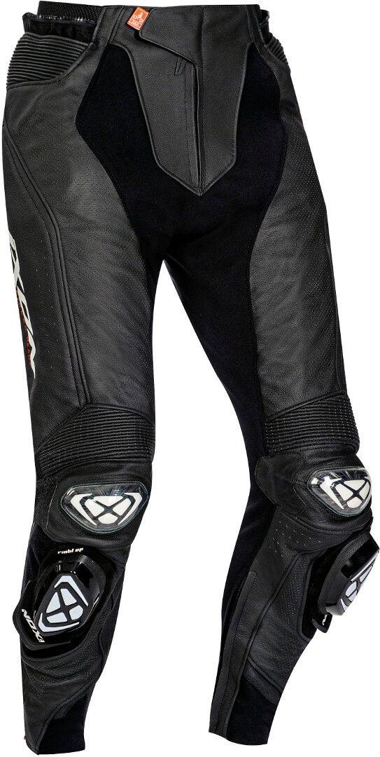 Ixon Vendetta Evo Motorsykkel skinn bukser L Svart Hvit