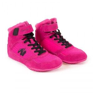 Gorilla Wear Women GW High Tops Shoe, pink, 38 Sko dame