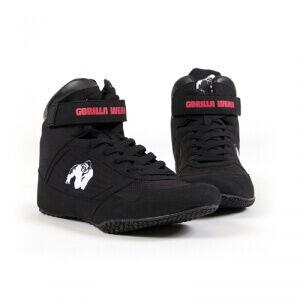 Gorilla Wear Men GW High Tops Shoe, black, 44 Kampsportsko herr