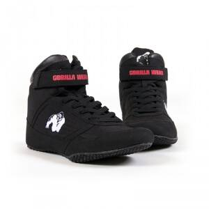 Gorilla Wear Men GW High Tops Shoe, black, 40 Kampsportsko dame