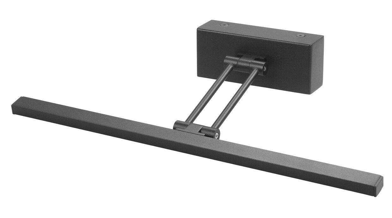 AH Belysning Gunnebo V961 LED for rammebredde 60-100 cm - Svart
