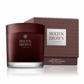 Molton Brown Black Peppercorn - 3 væge duft lys (500 g)