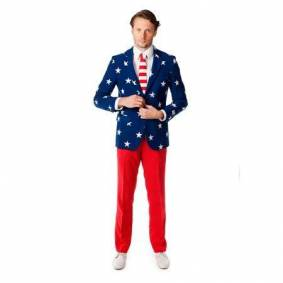 Oppo Suits Jakkesæt - Stars and Stripes