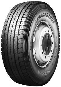 Bridgestone M 749 Ecopia ( 315/70 R22.5 152/148M dobbel merking 154/150L )
