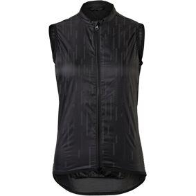 AGU Essential II Wind Vest Hi-Vis Women black reflective S 2021 Vester