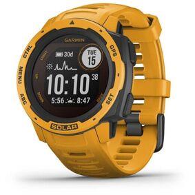 Garmin Instinct Solar GPS Smartwatch Gul  2020 Pulsbånd & Pulsklokker