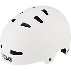 TSG Evolution Solid Color Hjelm hvit L/XL   57-59cm 2021 By- og trekkinghjelmer