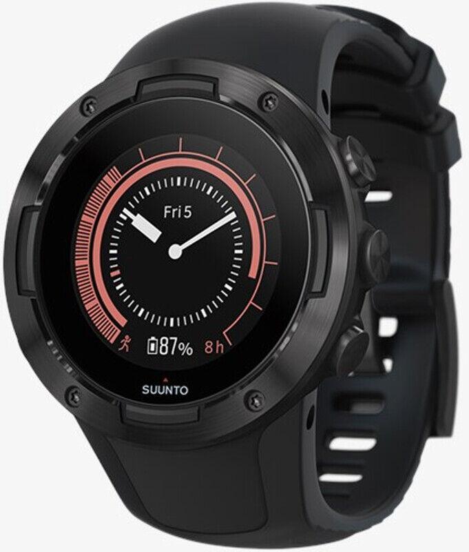 Suunto 5 GPS Sports Watch black  2019 Pulsbånd & Pulsklokker