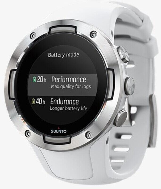 Suunto 5 GPS Sports Watch white  2019 Pulsbånd & Pulsklokker