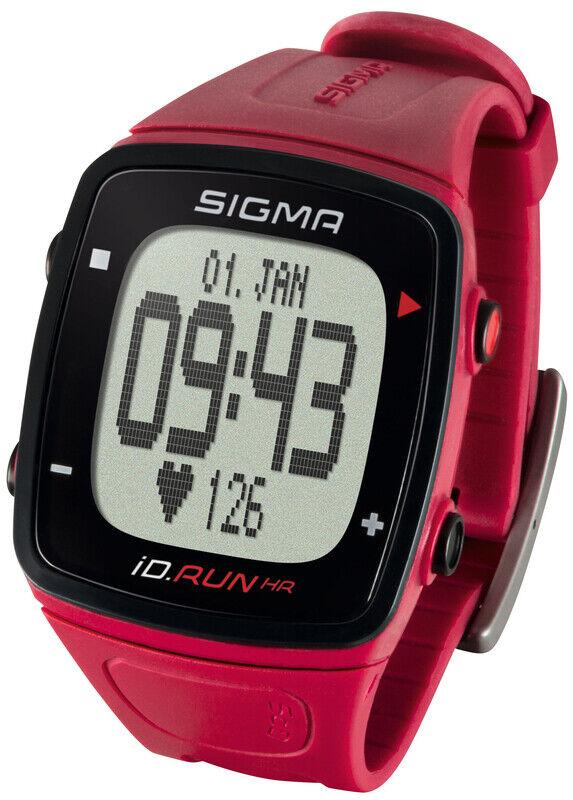 Sigma SPORT ID.Run HR Pulsmåler rød  2020 Pulsbånd & Pulsklokker