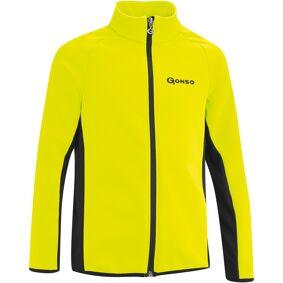 Gonso Moritz Softshell Jakke Barn safety yellow/black 128 2020 Barnejakker