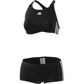 adidas Essence Core 3-Stripes Bikini Dame svart DE 34   S 2021 Badedrakter