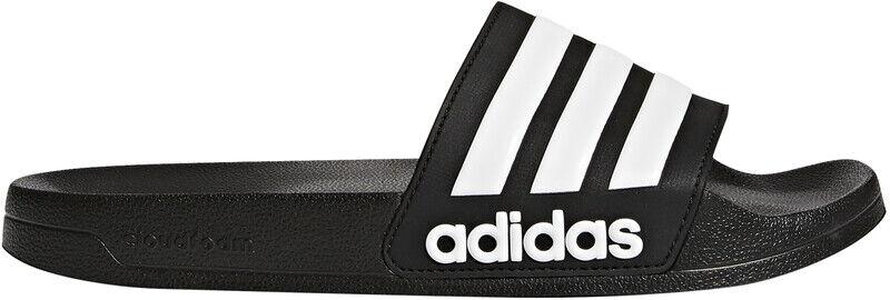 adidas Adilette Shower Lysbilder Herre svart UK 13   EU 48 2/3 2021 Badesko & Sandaler