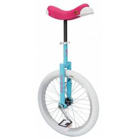 QU-AX Luxus Unicycle blue/pink/white 20