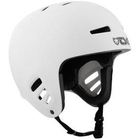 TSG Dawn Solid Color Hjelm hvit L/XL   57-59cm 2021 BMX- og dirthjelmer