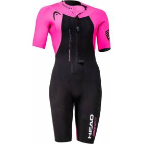 Head Swimrun Rough Shorty Suit Women black XS (Long) 2021 Våtdrakter