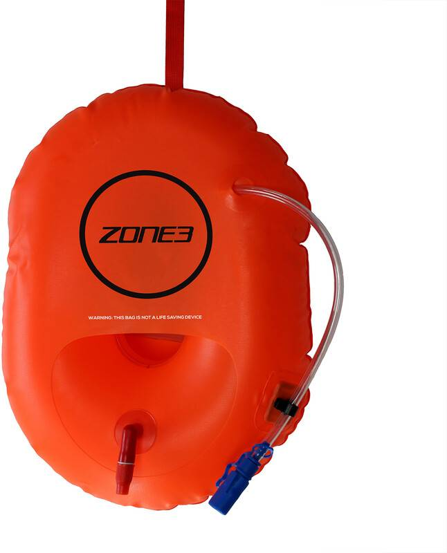 Zone3 Swim Safety Bøye / hydreringskontroll Orange  2021 Trening og Svømmetilbehør