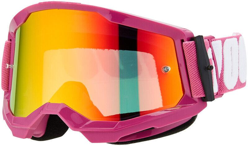 100% Strata Anti-tåke beskyttelsesbriller Gen2 rød  2021 Goggles