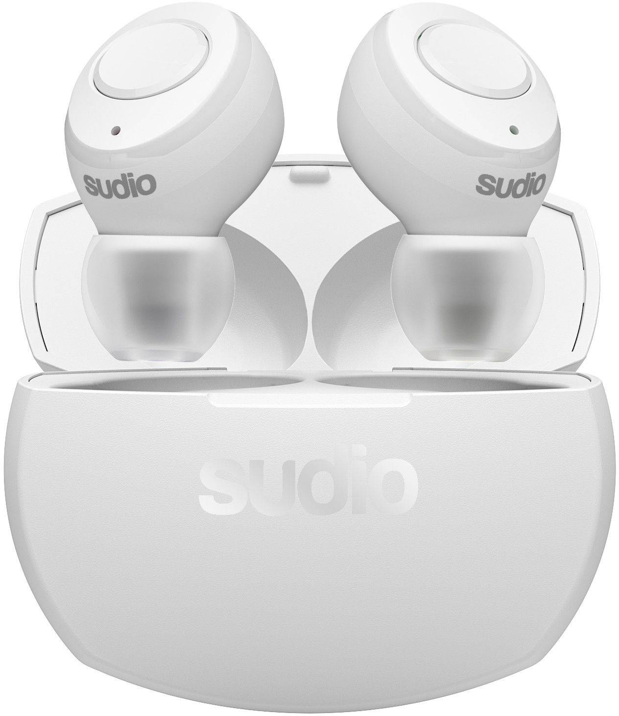 Sudio Tolv R - True Wireless - Hvit