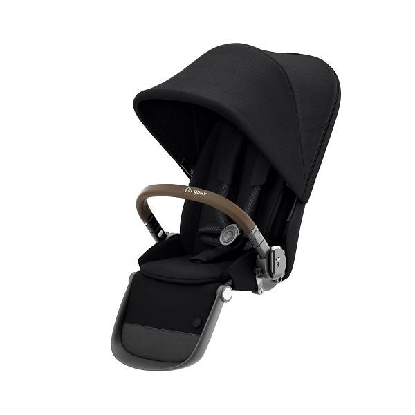 Cybex Gazelle S Seat Unit - Deep Black/taupe