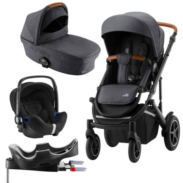 Britax Smile III Travelsystem - Midnight Grey