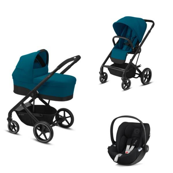 Cybex Balios S Lux Travelsystem 3i1 - River Blue