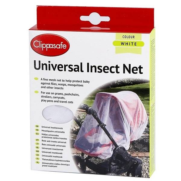 Clippasafe Universalt Insektsnett - White