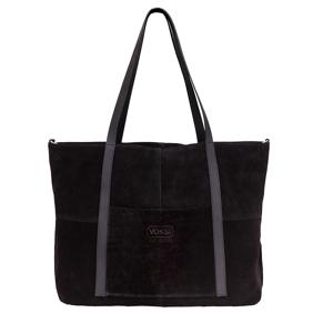 Ida Ising Voksi® Ida Ising Citybag - Black Suede