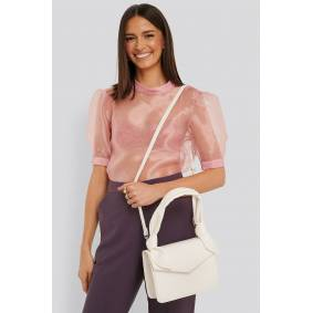 NA-KD Accessories Knot Envelope Crossbody Bag - White