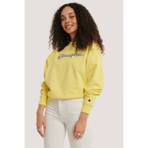 Champion Crewneck Sweatshirt - Yellow
