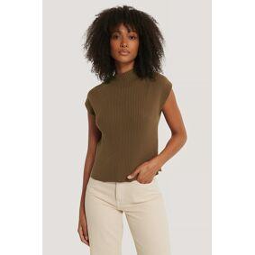 NA-KD Trend Vest - Brown