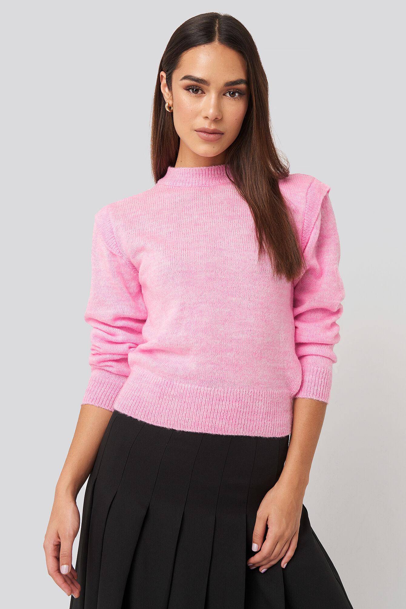 Trendyol Padded Sweater - Pink