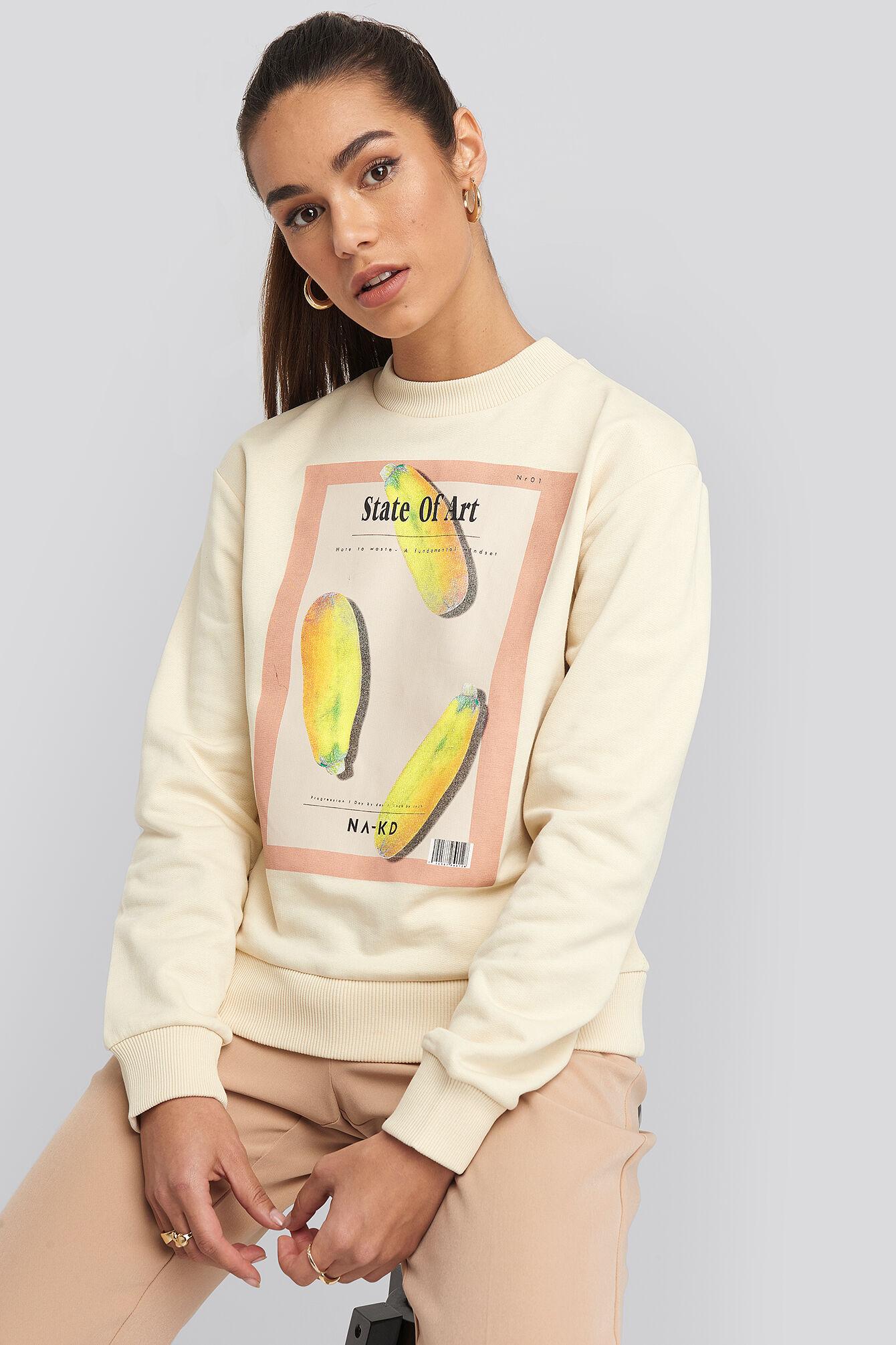NA-KD State Of Art Basic Sweater - Beige