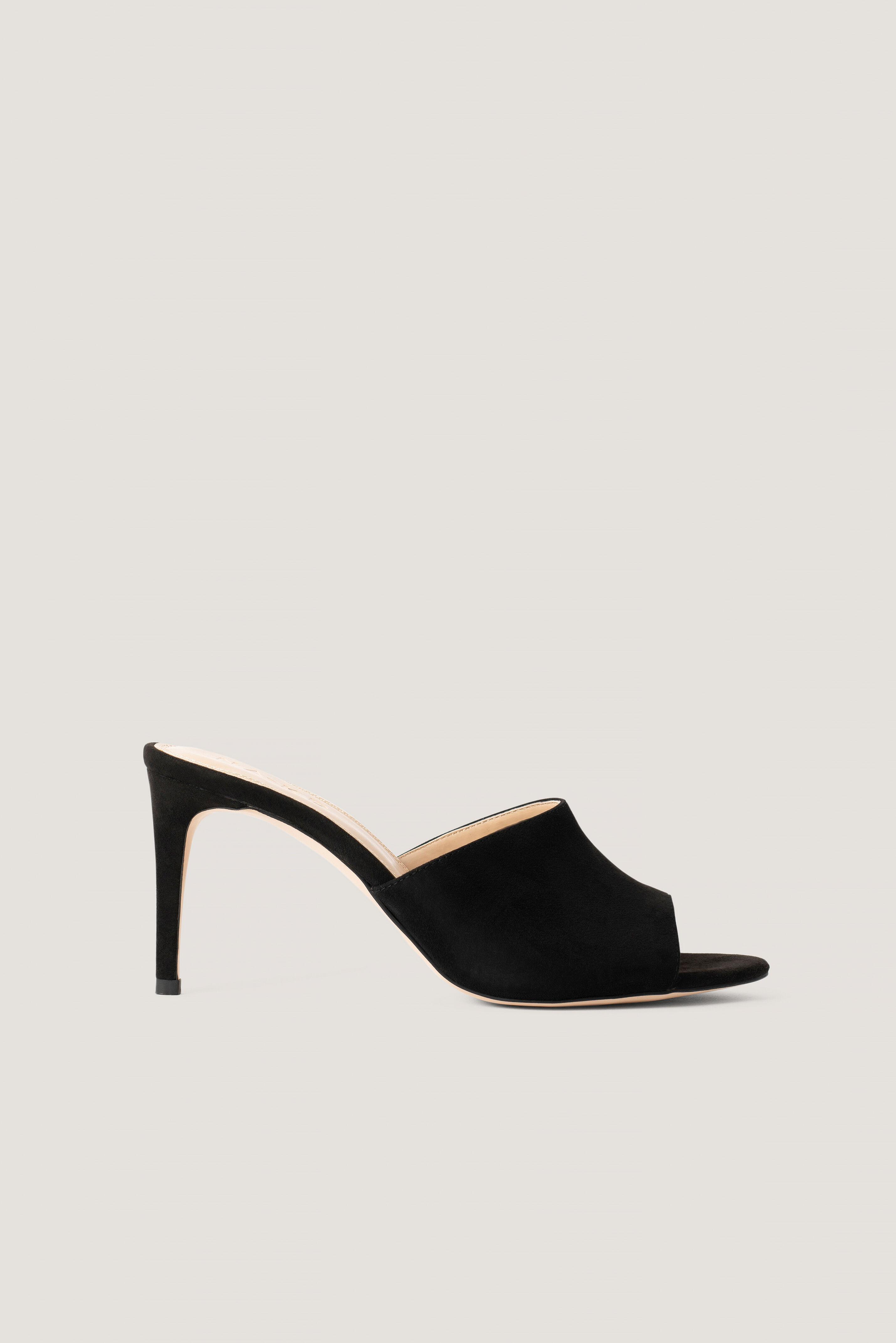NA-KD Shoes Stiletto Mules - Black