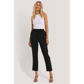 NA-KD Drawstring Pants - Black