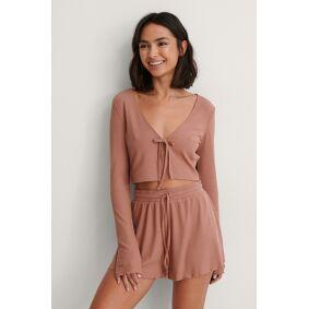 NA-KD Lingerie Shorts - Pink