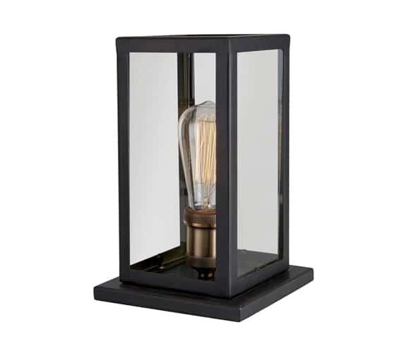 MS Belysning Dovre Bordlampe 230V E27 Sort