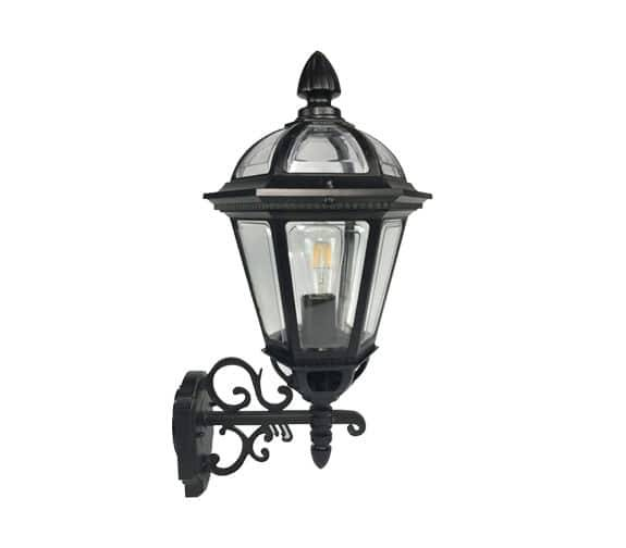 Nordic Products Knight Vegglampe E27/40W Sort