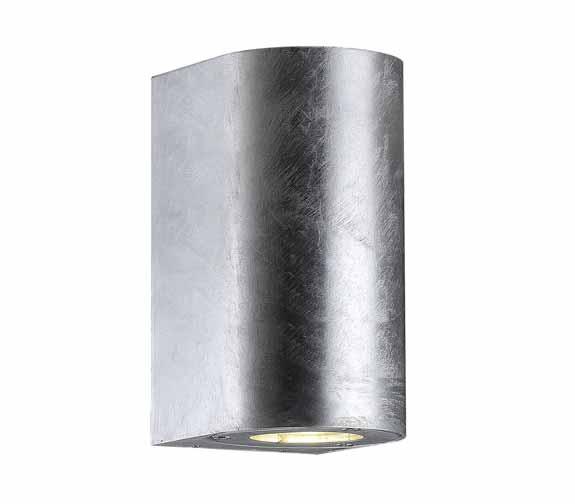 Nordlux Canto Maxi Vegglampe Galvanisert Stål
