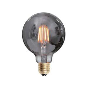 MS Belysning Edison Globe Smoke 80mm LED E27 4W Dimbar