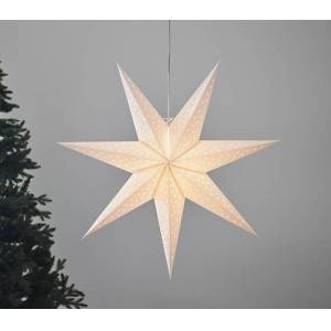 Markslöjd Clara Adventsstjerne 75cm Hvit