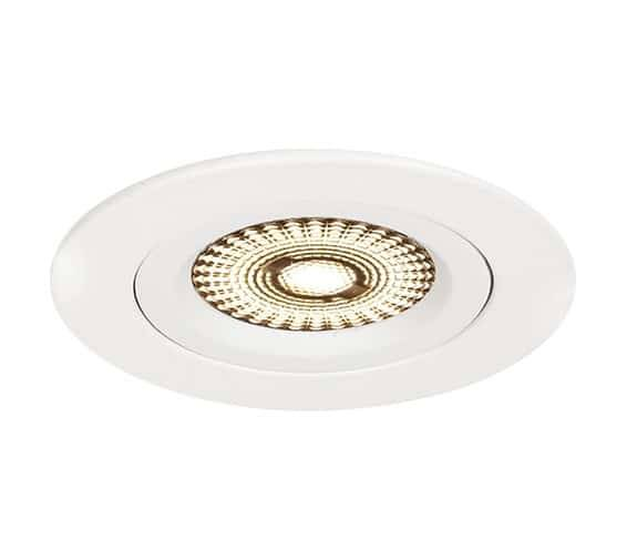 Nordic Products Komplett Nova LED 4W x6 Downlightpakke Hvit