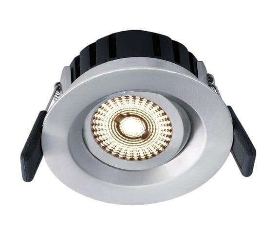 Nordic Products NP Universal LED Downlight 360 Tilt 8W IP44 Børstet Stål
