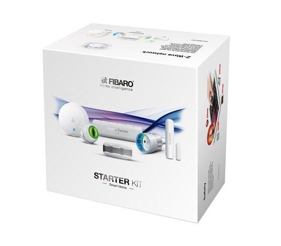 FIBARO Home Intelligence Fibaro Starter Kit M/basestasjon Og 5 Smart-Enheter Z-Wave